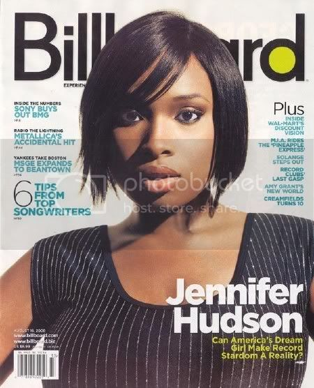 Jennifer Hudson Billboard Cover &amp; Interview